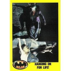 1989 Batman The Movie Series 2 Topps HANGING ON FOR LIFE! #159 EX