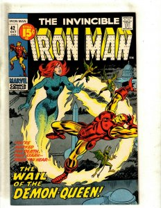 Iron Man # 42 VF/NM Marvel Comic Book Avengers Hulk Thor Captain America J462