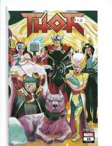 Thor #16 MARVEL LEGACY  1ST PRINT  NM  nw12