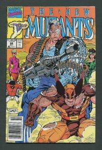 New Mutants #94  / 9.4 NM  Newsstand  October  1990