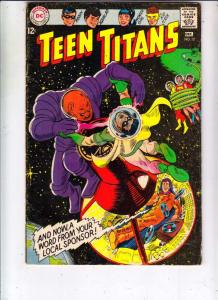 Teen Titans, The #12 (Dec-67) FN Mid-Grade Kid Flash, Robin, Wonder Girl, Speedy