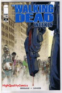WALKING DEAD WEEKLY #4, NM, Zombies, Horror, Robert Kirkman, 2011, Brains, Flesh