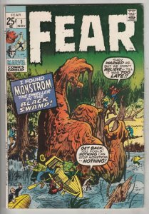 Fear #1 (Nov-70) VF High-Grade
