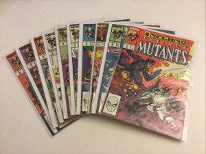 New Mutants 71 72 73 74 75 76 77 78 79 80 Nm Near Mint Marvel Comics