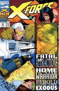 X-FORCE (1991 MARVEL) #25