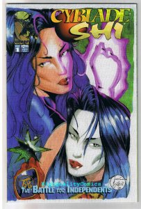 CYBLADE SHI #1, Variant, NM+, William Tucci, 1995, 1st Witchblade, more in store