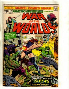 Lot Of 6 Amazing Adventures Marvel Comic Books # 19 20 21 22 23 24 Killraven RS1