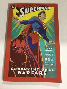 Superman Unconventional Warfare Nm Near Mint DC Comics SC TPB