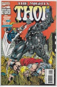 Thor   vol. 1   #477 FN Thunderstrike, Destroyer
