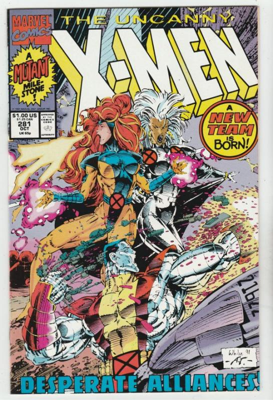 X-Men #281 (Oct-91) NM- High-Grade X-Men