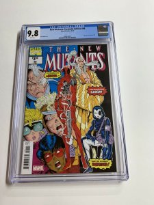 New Mutants 98 Cgc 9.8 Facsimile Edition Marvel 1st Deadpool