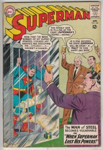 Superman #160 (Apr-63) VF/NM High-Grade Superman, Jimmy Olsen,Lois Lane, Lana...