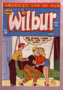 WILBUR #18 1948-KATY KEENE PIN-UP ART BY BILL WOGGON-VF