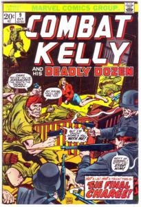 Combat Kelly and His Deadly Dozen #9 (Oct-73) FN Mid-Grade Combat Kelly and H...