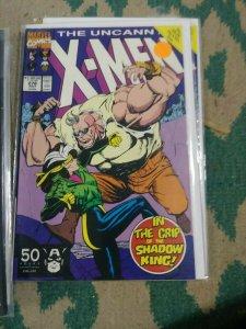 UNCANNY X-MEN #278 1991 MARVEL MUIR ISLAND SAGA SHADOW KING ROOGUE GUIDO