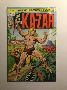 Ka-Zar 1 Very fine+ vf+ 7.5 Marvel