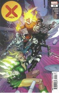 X-Men #19 (2021) - Wolverine, Darwin, Synch, Cyclops, Professor X