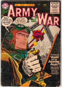 Our Army at War #45 (Apr-56) VG- Affordable-Grade