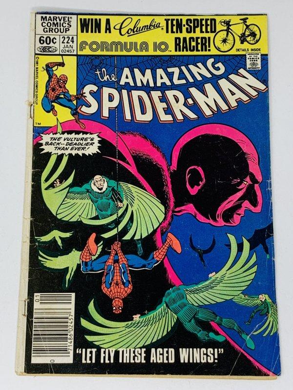 The Amazing Spider-Man #224 (1982) RA1
