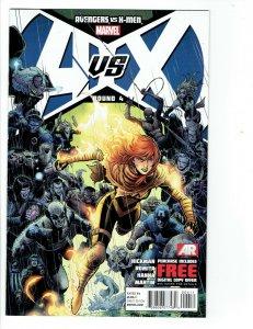 Marvel Comics Avengers Vs. X-Men #4  2012 A vs. X Round 4 NM