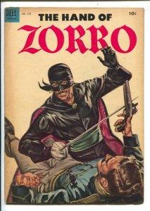 Hand of Zorro-Four Color Comics #574 1954 Dell-Everett Raymond Kinstler art-J...