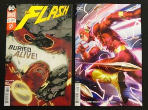 DC Flash #61 Variant Cover + Regular Cover Lot of 2