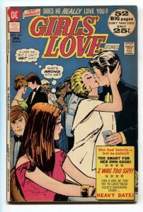 GIRLS' LOVE STORIES #165 comic book 1972-DC COMIC-FN