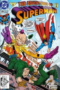 Adventures of Superman (1987 series) #496, VG+ (Stock photo)