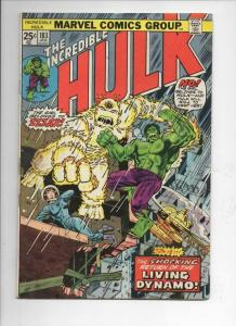 HULK #183, VG+, ZzzaX, Trimpe, Marvel, 1968 1975, Incredible, more in store