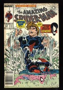 Amazing Spider-Man #315 FN/VF 7.0 Newsstand Variant 2nd Venom! McFarlane!