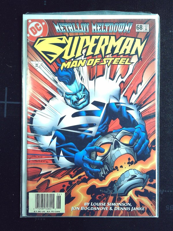 Superman: The Man of Steel #68 (1997)