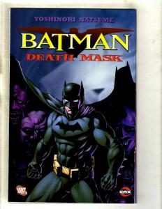Lot Of 4 Batman Deathmask DC Comic Books # 1 2 3 4 NM Yoshinori Natsume SM8
