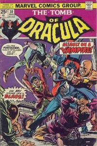 Tomb of Dracula (1972 series) #30, VG- (Stock photo)
