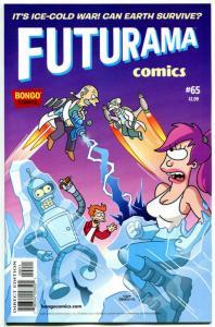 FUTURAMA #65, NM, Bongo ,Fry, Bender, Leela, Professor Farnsworth,more in store