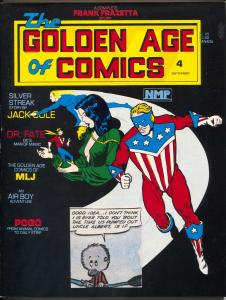 Golden Age Of Comics #4 MLJ Superheroes-Jack Cole-Pogo-Airboy-Silver Streak-VF