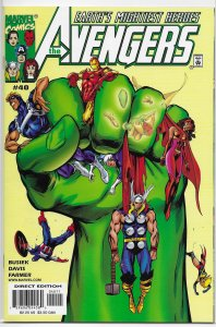 Avengers (vol. 3, 1998) #40 VF/NM Busiek/Davis, Ms. Marvel, Hulk, Quicksilver