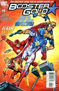 Booster Gold (2007 series) #4, NM (Stock photo)