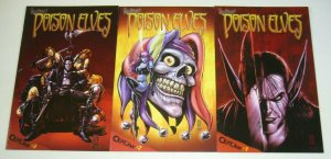 Drew Hayes' Poison Elves #1-3 FN/VF complete series - darick robertson variants