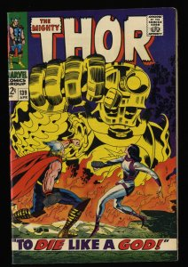 Thor #139 VF+ 8.5 White Pages Celestials!
