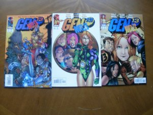 3 Near-Mint Image GEN 13 BOOTLEG #3 5 6 Comic (1997) Norton Hope Moore Coker