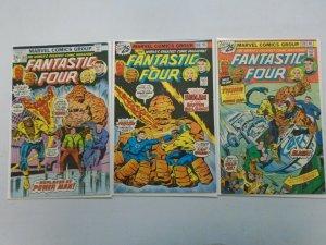 Fantastic Four run #168-170 featuring Power Man (1976 1st Series)