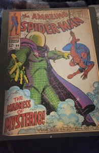 Spiderman mysterious cover deco art