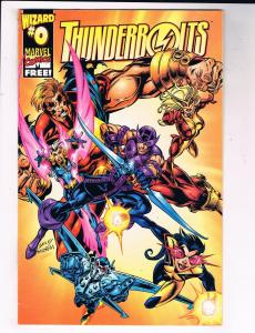 Thunderbolts #0 VG/FN Marvel Wizard Comic Book Bagle Avengers 1997 DE39 AD12