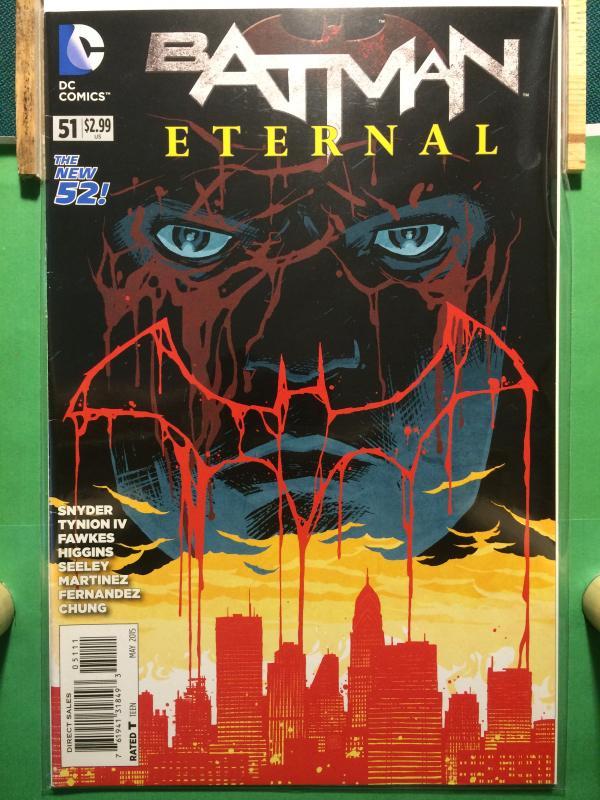 Batman Eternal #51 The New 52