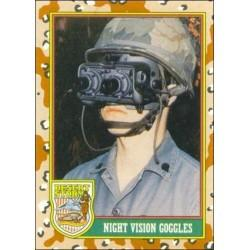 1991 Topps Desert Storm NIGHT VISION GOGGLES #63