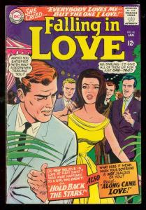 FALLING IN LOVE #80 1966-DC ROMANCE COMICS-GLOSSY COVER FN