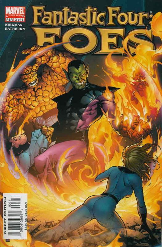 Fantastic Four: Foes #3 VF/NM; Marvel | save on shipping - details inside