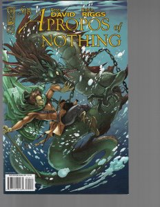Sir Apropos of Nothing #4 (IDW, 2008) Robin Riggs Cover
