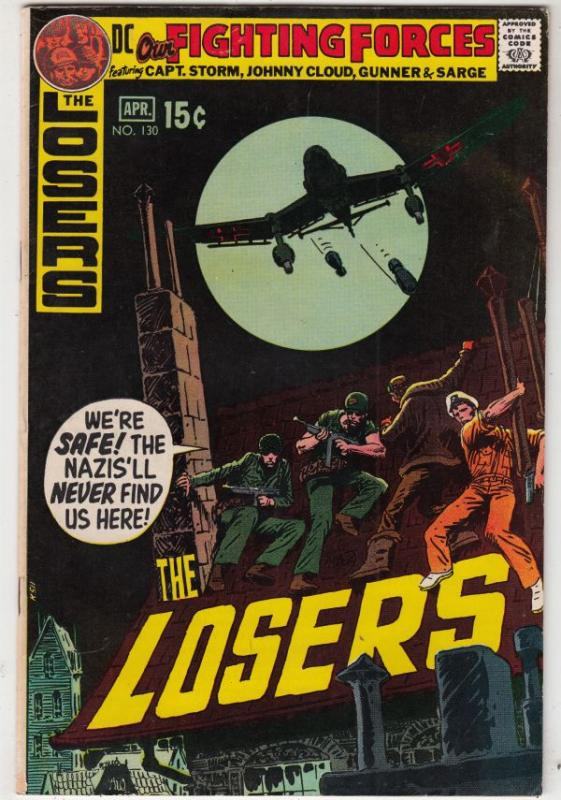 Our Fighting Forces #130 (Apr-71) VF/NM High-Grade Lt. Hunter's Hellcats