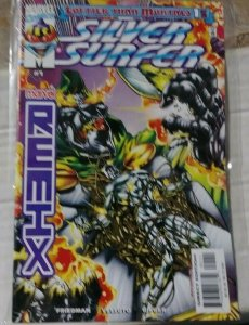 Silver Surfer remix # 1 1999 Marvel  loftier than mortals +  doctor doom